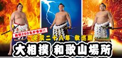相撲和歌山場所2016